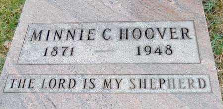 HOOVER, MINNIE C. - Shelby County, Ohio | MINNIE C. HOOVER - Ohio Gravestone Photos