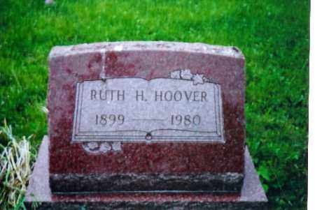 HOOVER, RUTH H. - Shelby County, Ohio | RUTH H. HOOVER - Ohio Gravestone Photos