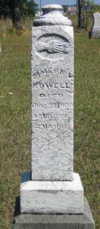 HOWELL, SIMEON MAXSON - Shelby County, Ohio | SIMEON MAXSON HOWELL - Ohio Gravestone Photos