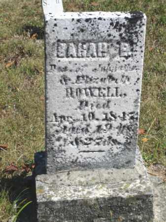 HOWELL, SARAH E. - Shelby County, Ohio   SARAH E. HOWELL - Ohio Gravestone Photos