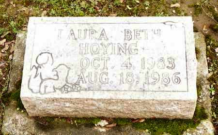 HOYING, LAURA BETH - Shelby County, Ohio | LAURA BETH HOYING - Ohio Gravestone Photos