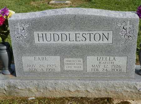 HUDDLESTON, EARL - Shelby County, Ohio | EARL HUDDLESTON - Ohio Gravestone Photos