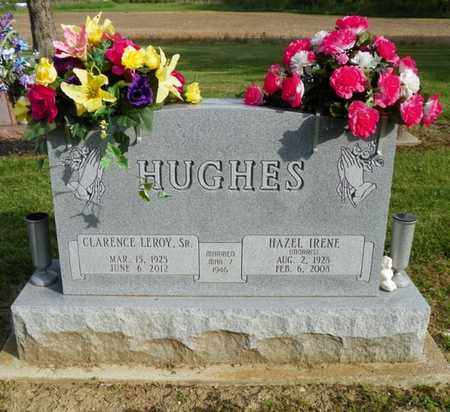 HUGHES, CLARENCE LEROY - Shelby County, Ohio | CLARENCE LEROY HUGHES - Ohio Gravestone Photos