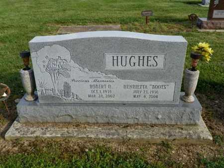 HUGHES, ROBERT D. - Shelby County, Ohio   ROBERT D. HUGHES - Ohio Gravestone Photos