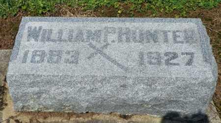 HUNTER, WILLIAM P. - Shelby County, Ohio   WILLIAM P. HUNTER - Ohio Gravestone Photos