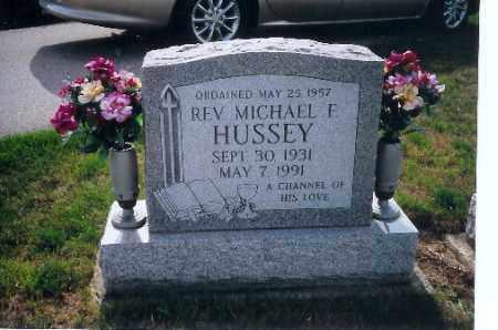 HUSSEY, REV. MICHAEL F - Shelby County, Ohio | REV. MICHAEL F HUSSEY - Ohio Gravestone Photos