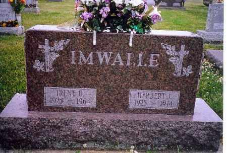 IMWALLE, HERBERT J. - Shelby County, Ohio | HERBERT J. IMWALLE - Ohio Gravestone Photos