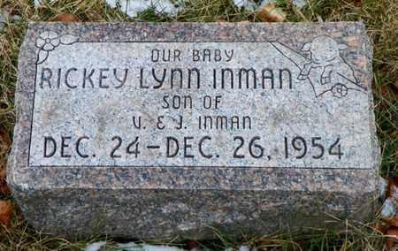 INMAN, RICKEY LYNN - Shelby County, Ohio | RICKEY LYNN INMAN - Ohio Gravestone Photos