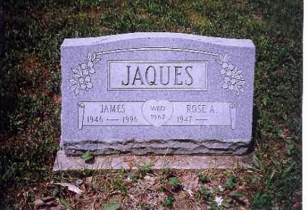 JAQUES, JAMES - Shelby County, Ohio | JAMES JAQUES - Ohio Gravestone Photos