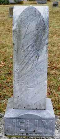 JELLY, HUGH - Shelby County, Ohio | HUGH JELLY - Ohio Gravestone Photos