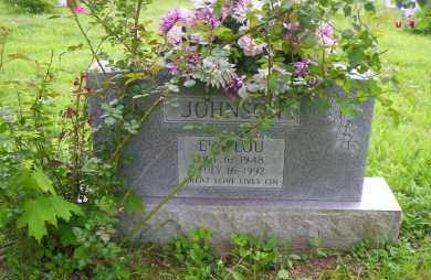 JOHNSON, EVA LOU - Shelby County, Ohio | EVA LOU JOHNSON - Ohio Gravestone Photos