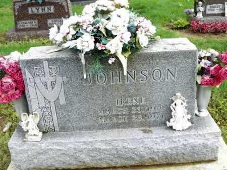JOHNSON, IRENE - Shelby County, Ohio | IRENE JOHNSON - Ohio Gravestone Photos