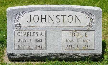 JOHNSTON, ETITH E. - Shelby County, Ohio | ETITH E. JOHNSTON - Ohio Gravestone Photos