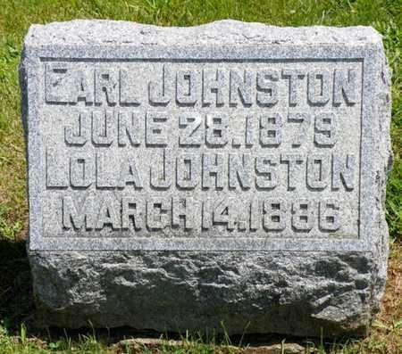 JOHNSTON, EARL - Shelby County, Ohio | EARL JOHNSTON - Ohio Gravestone Photos