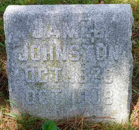 JOHNSTON, JAMES - Shelby County, Ohio   JAMES JOHNSTON - Ohio Gravestone Photos
