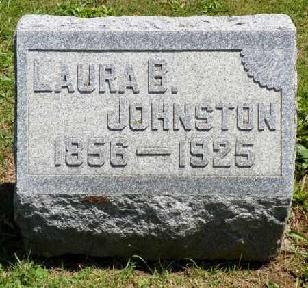 SHAW JOHNSTON, LAURA B. - Shelby County, Ohio   LAURA B. SHAW JOHNSTON - Ohio Gravestone Photos