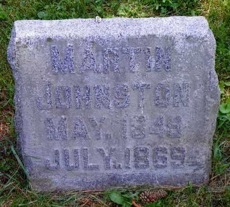JOHNSTON, MARTIN - Shelby County, Ohio | MARTIN JOHNSTON - Ohio Gravestone Photos