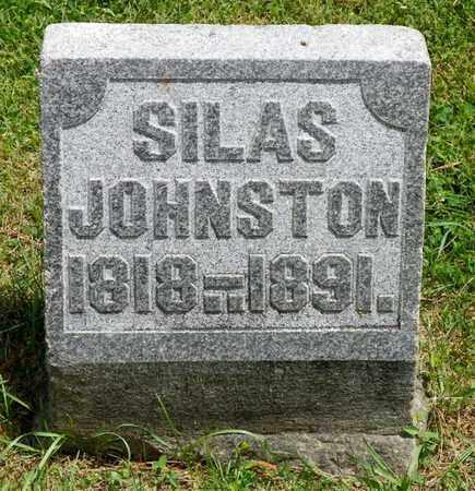 JOHNSTON, SILAS - Shelby County, Ohio   SILAS JOHNSTON - Ohio Gravestone Photos