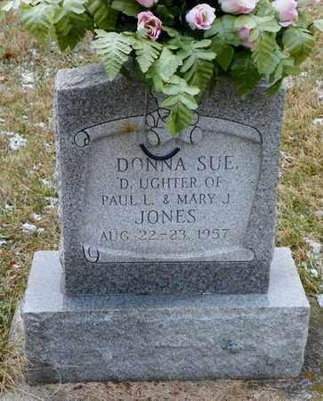 JONES, DONNA SUE - Shelby County, Ohio   DONNA SUE JONES - Ohio Gravestone Photos