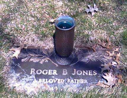 JONES, ROGER B. - Shelby County, Ohio | ROGER B. JONES - Ohio Gravestone Photos