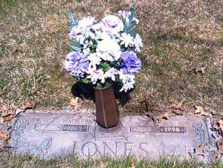 JONES, WILLIAM E. - Shelby County, Ohio | WILLIAM E. JONES - Ohio Gravestone Photos