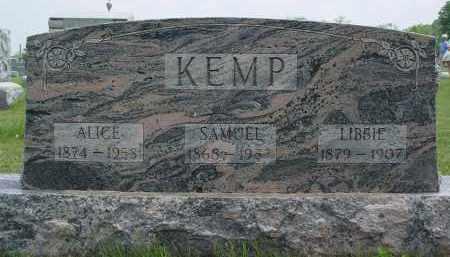 KEMP, SAMUEL - Shelby County, Ohio | SAMUEL KEMP - Ohio Gravestone Photos