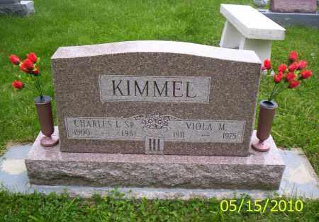 KIMMEL, CHARLES L. SR. - Shelby County, Ohio | CHARLES L. SR. KIMMEL - Ohio Gravestone Photos