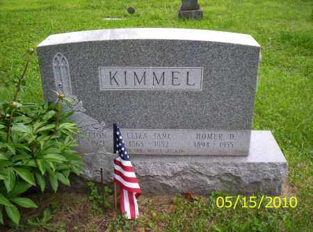 KIMMEL, HOMER D. - Shelby County, Ohio | HOMER D. KIMMEL - Ohio Gravestone Photos