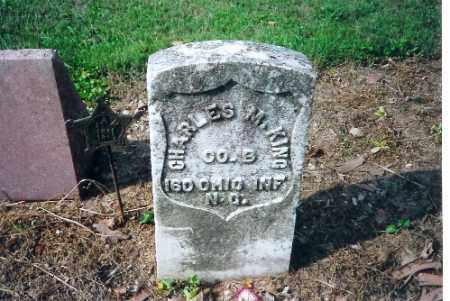 KING, CHARLES M - Shelby County, Ohio | CHARLES M KING - Ohio Gravestone Photos