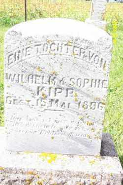 KIPP, INFANT DAUGHTER - Shelby County, Ohio | INFANT DAUGHTER KIPP - Ohio Gravestone Photos