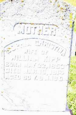 KIPP, SOPHIA CHRISTINA - Shelby County, Ohio   SOPHIA CHRISTINA KIPP - Ohio Gravestone Photos
