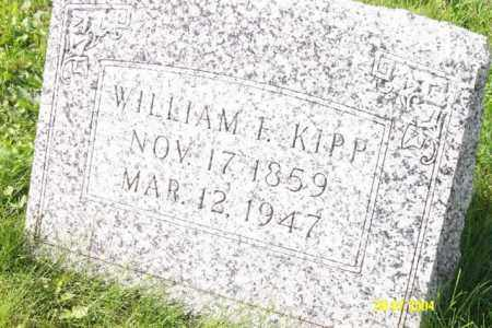 KIPP, WILLIAM E. - Shelby County, Ohio | WILLIAM E. KIPP - Ohio Gravestone Photos