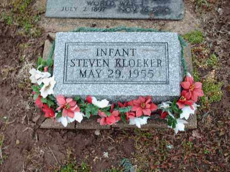 KLOEKER, STEVEN - Shelby County, Ohio | STEVEN KLOEKER - Ohio Gravestone Photos
