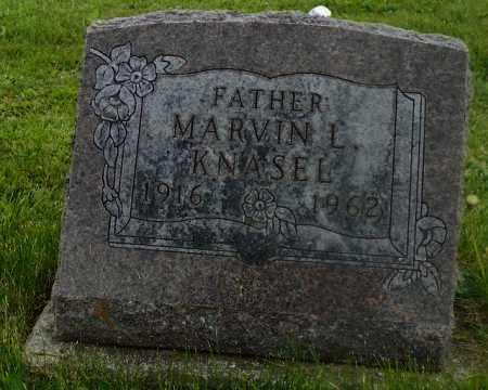 KNASEL, MARVIN L. - Shelby County, Ohio   MARVIN L. KNASEL - Ohio Gravestone Photos