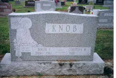 KNOB, CORDELIA M. - Shelby County, Ohio   CORDELIA M. KNOB - Ohio Gravestone Photos