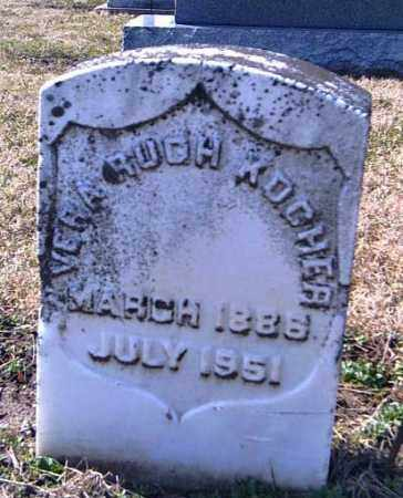KOCHER, VERA RUGH - Shelby County, Ohio | VERA RUGH KOCHER - Ohio Gravestone Photos