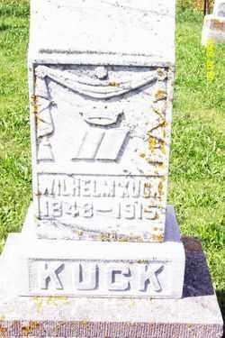 KUCK, WILHELM (WILLIAM) - Shelby County, Ohio   WILHELM (WILLIAM) KUCK - Ohio Gravestone Photos