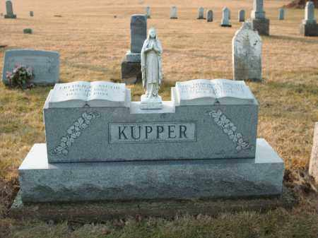KUPPER, FREDRICK JACOB - Shelby County, Ohio | FREDRICK JACOB KUPPER - Ohio Gravestone Photos