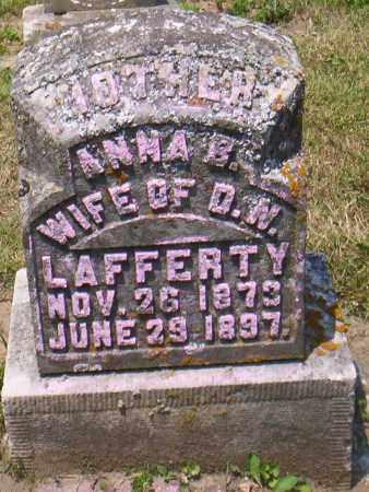 LAFFERTY, ANNA E. - Shelby County, Ohio | ANNA E. LAFFERTY - Ohio Gravestone Photos