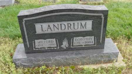 LANDRUM, DOROTHY - Shelby County, Ohio | DOROTHY LANDRUM - Ohio Gravestone Photos