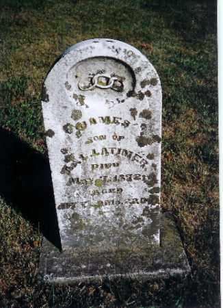 LATIMER, JAMES - Shelby County, Ohio | JAMES LATIMER - Ohio Gravestone Photos