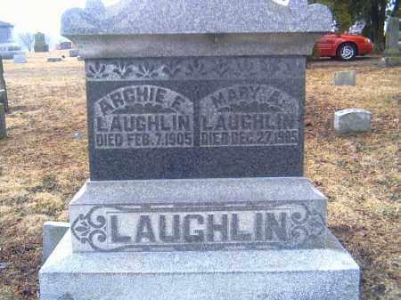 LAUGHLIN, MARY ANN - Shelby County, Ohio | MARY ANN LAUGHLIN - Ohio Gravestone Photos