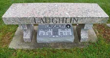 LAUGHLIN, FLORENCE E. - Shelby County, Ohio | FLORENCE E. LAUGHLIN - Ohio Gravestone Photos