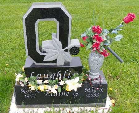 LAUGHLIN LAUGHLIN, ELAINE G. - Shelby County, Ohio   ELAINE G. LAUGHLIN LAUGHLIN - Ohio Gravestone Photos
