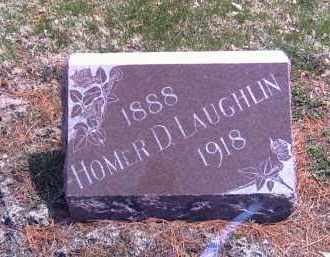 LAUGHLIN, HOMER DEWEESE - Shelby County, Ohio | HOMER DEWEESE LAUGHLIN - Ohio Gravestone Photos