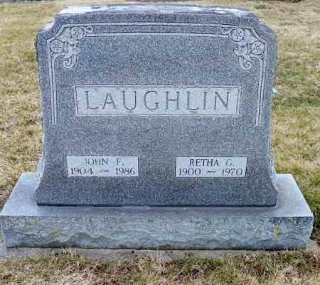 LAUGHLIN, JOHN F. - Shelby County, Ohio | JOHN F. LAUGHLIN - Ohio Gravestone Photos