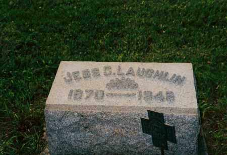 LAUGHLIN, JESS CLIFTON - Shelby County, Ohio | JESS CLIFTON LAUGHLIN - Ohio Gravestone Photos