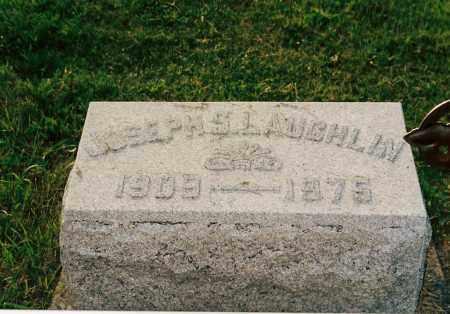 LAUGHLIN, JOSEPH SAMUEL - Shelby County, Ohio | JOSEPH SAMUEL LAUGHLIN - Ohio Gravestone Photos