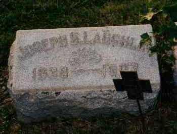 LAUGHLIN, JOSEPH S. - Shelby County, Ohio | JOSEPH S. LAUGHLIN - Ohio Gravestone Photos