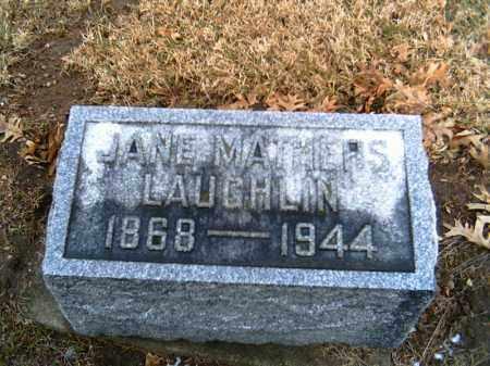 LAUGHLIN, JANE - Shelby County, Ohio | JANE LAUGHLIN - Ohio Gravestone Photos